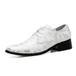 Shoespie Serpentine Lace-Up Casual Men's Oxfords