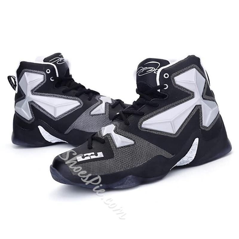 Shoespie Mesh High-Cut Men's Athletic Shoes