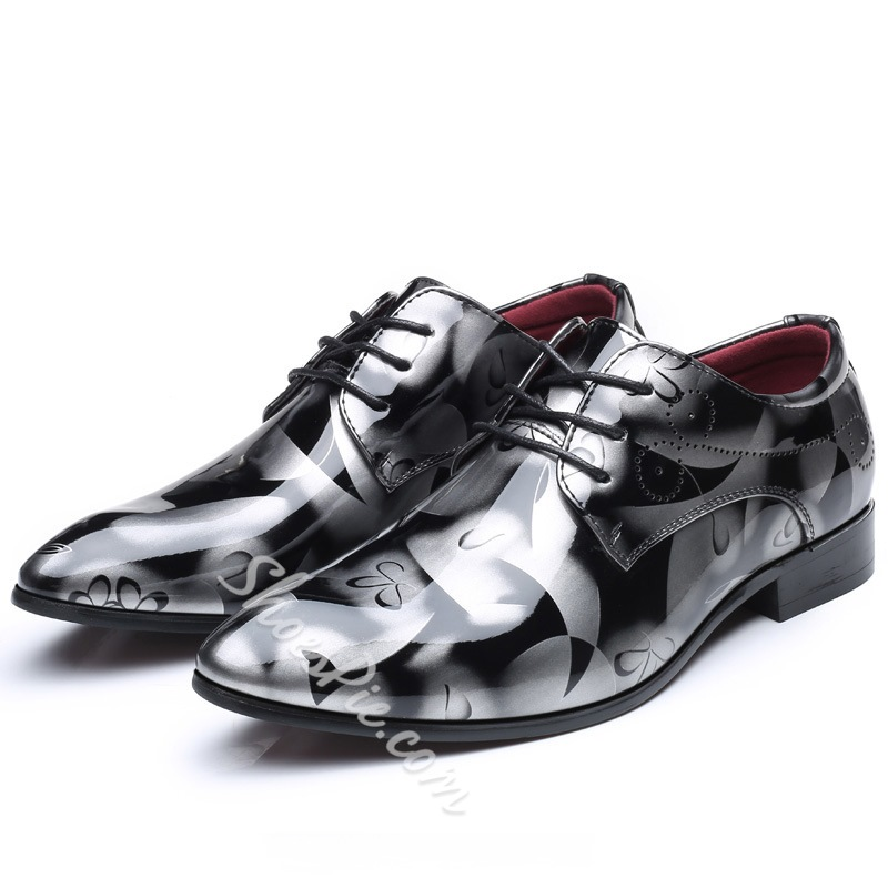 Shoespie Flora Lace-Up Casual Men's Oxfords