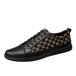 Shoespie Thread Casual Lace-Up Men's Sneakers