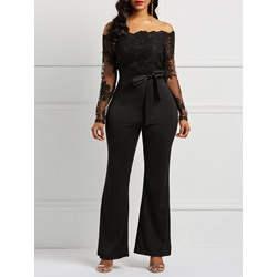 Lace England Full Length Slim Women's Jumpsuit