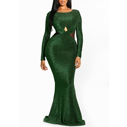 Mermaid Backless Sexy Women's Maxi Dress