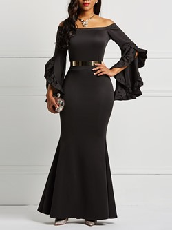 Ankle-Length Pullover Date Night Womens Maxi Dress