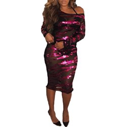 Pullover Regular Sexy Women's Bodycon Dress