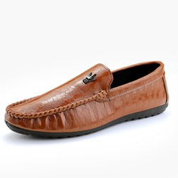 Shoespie Casual PU Slip-On Men's Loafers