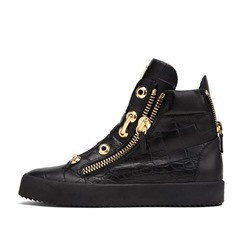 Shoespie Casual Sequin High Upper Men's Sneakers