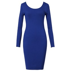 Shoespie Regular Plain Spring Women's Bodycon Dress