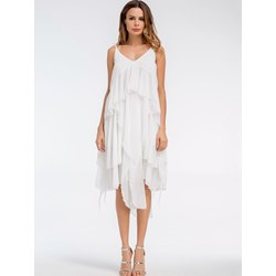 Shoespie Asymmetric Travel Look Women's Maxi Dress