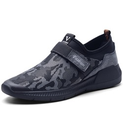 Camouflage Velcro Casual Men's Sneakers