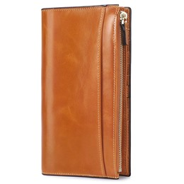 Shoespie Rectangle Magnetic Snap Long Wallet