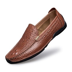 Shoespie Casual Slip-On Round Toe Men's Loafers