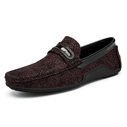 Shoespie Casual Sequin Slip-On Men's Loafers