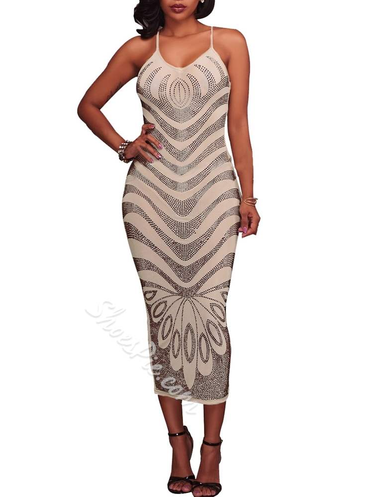 Sleeveless Sexy Pullover Women's Maxi Dress