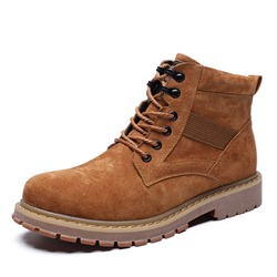 Shoespie Cowhells Lace Up Men's Martin Boots
