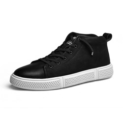 Shoespie Black Mesh Casual Men's Sneakerss