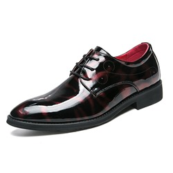 Shoespie Professional PU Lace-Up Men's Dress Shoes