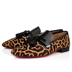 Shoespie Leopard Casual Tassel Patchwork Men's Loafers