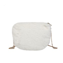 Shoespie Thread Plain Saddle Crossbody Bags