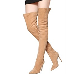 Shoespie Sexy Stiletto Heel Pointed Toe Knee High Boots