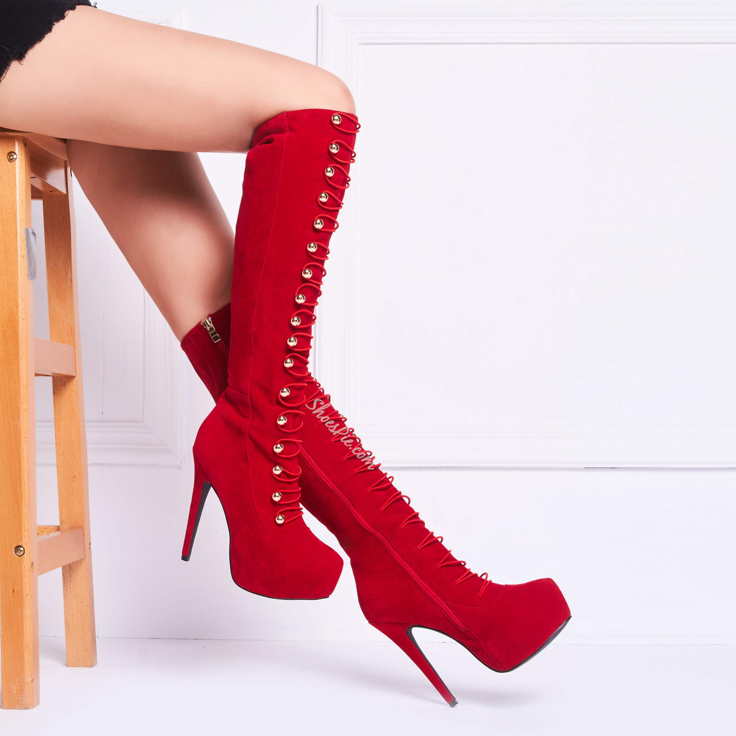 Shoespie New Arrival Stiletto Heels Knee High Boots