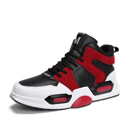 Shoespie High-Cut Lace Up Sports Men's Sneakers