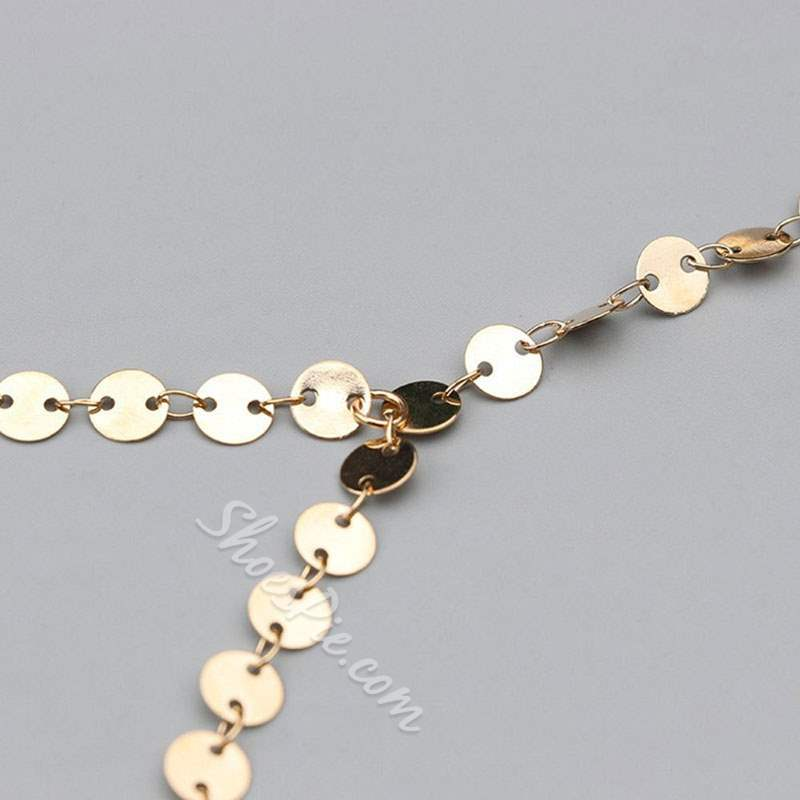 Chain Necklace European Female Necklaces
