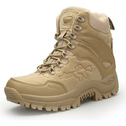 Shoespie Outdoor Desert Combat Tactical Men's Boots