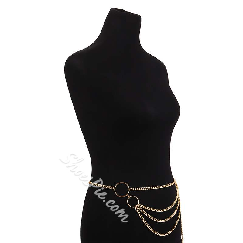 Rock/Punk Metal Waist Chain