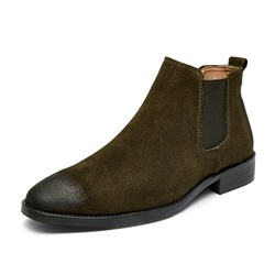 Shoespie Slip-On Chelsea Elastic Men's Ankle Boots