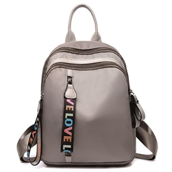 Shoespie Plain Rivet Oxford Backpacks