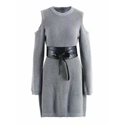 Long Sleeve Pullover Spring Women's Bodycon Dress