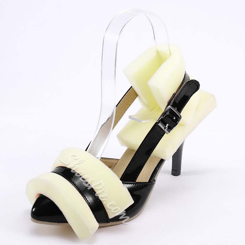Shoespie Sexy Stiletto Heel Buckle Pointed Toe Heels