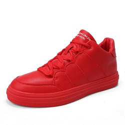 Shoespie Low-Cut Upper Lace-Up Round Toe Men's Sneakers