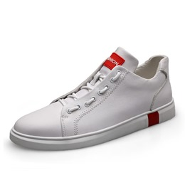 Shoespie Lace-Up Low-Cut Upper Round Toe Men's Sneakers