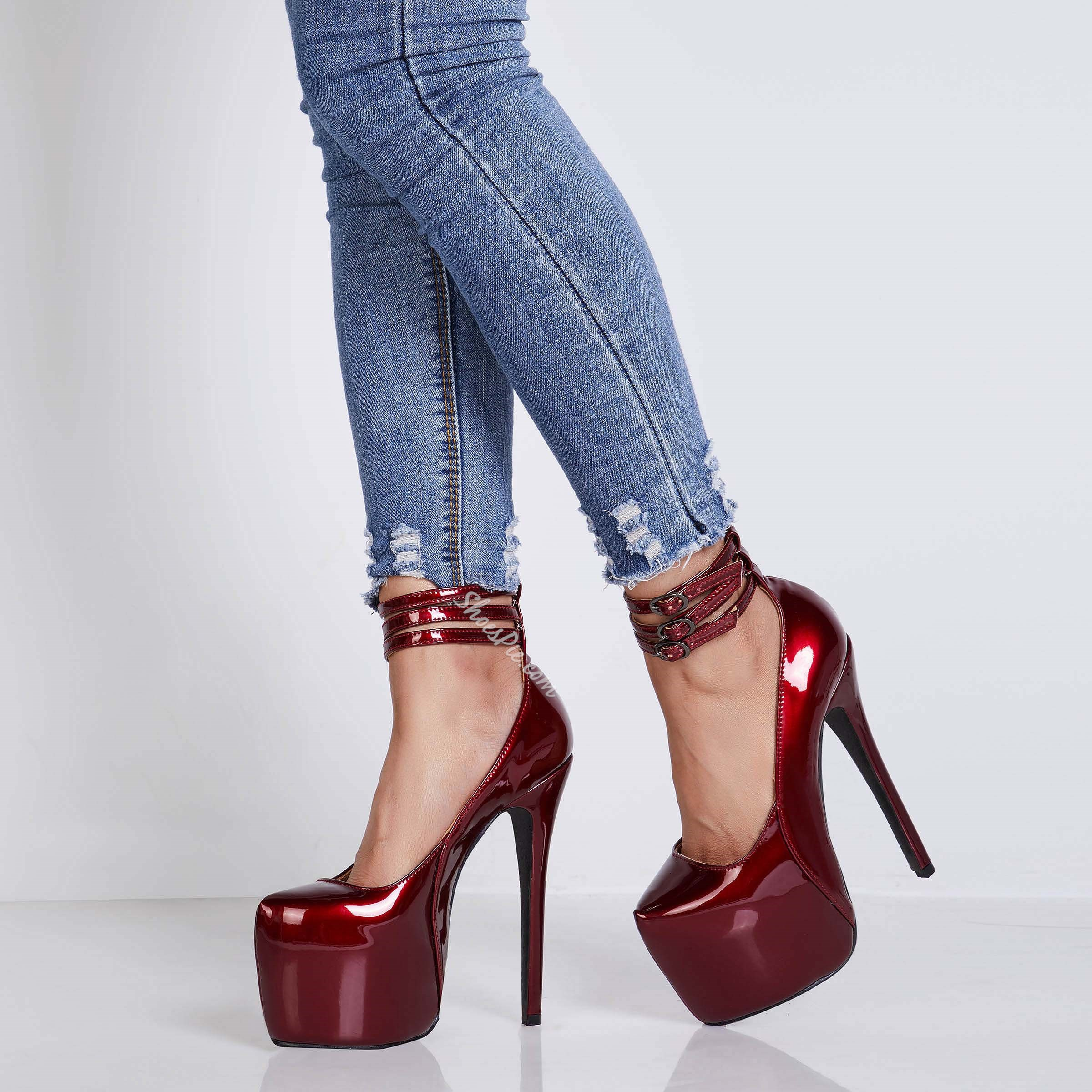 Sexy Platform High Stiletto Heel Women's Shoes