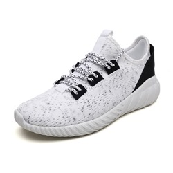 Shoespie Mesh Lace-Up Low-Cut Upper Men'sSneakers