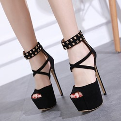 Shoespie Trendy Platform Stiletto Heel Peep Toe Sandals