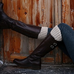 Crocheted Warmth Boot Cuffs