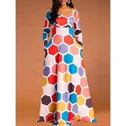 Ankle-Length Pullover Casual Women's Maxi Dress