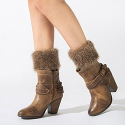 Imitation Fur Warmth Boot Cuffs