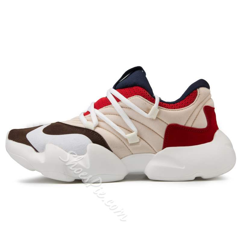 Shoespie Casual Mesh Lace-Up Men's Sneakers