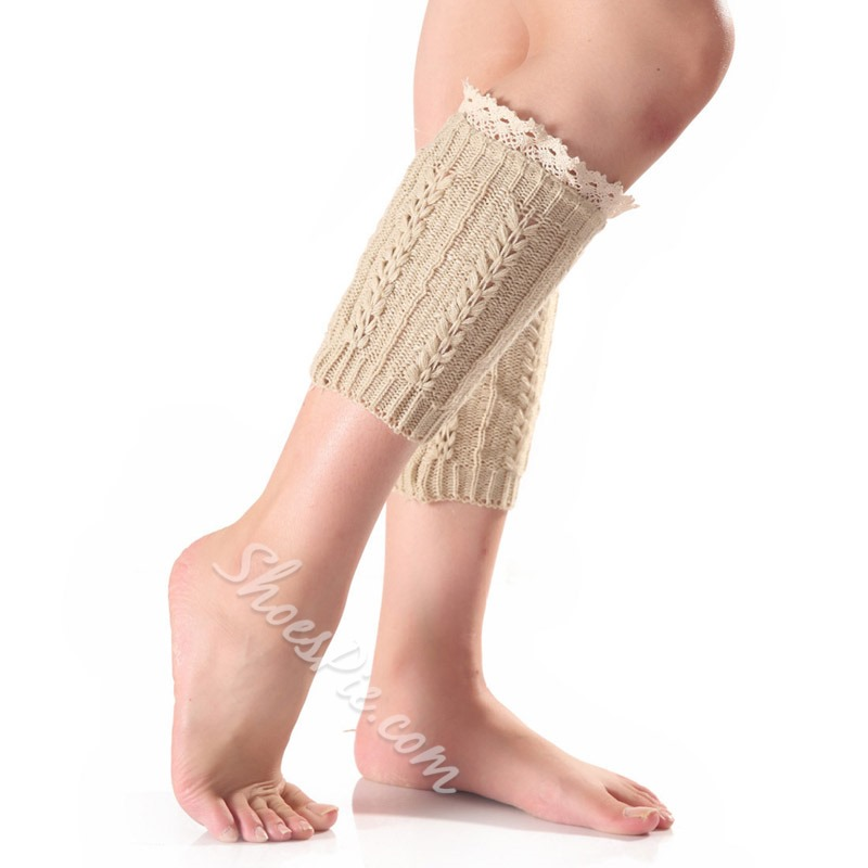 LaceFashion Winter Leg Warmer Socks