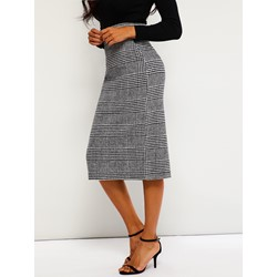 Pencil Skirt Mid-Calf Split Casual Women's Skirt