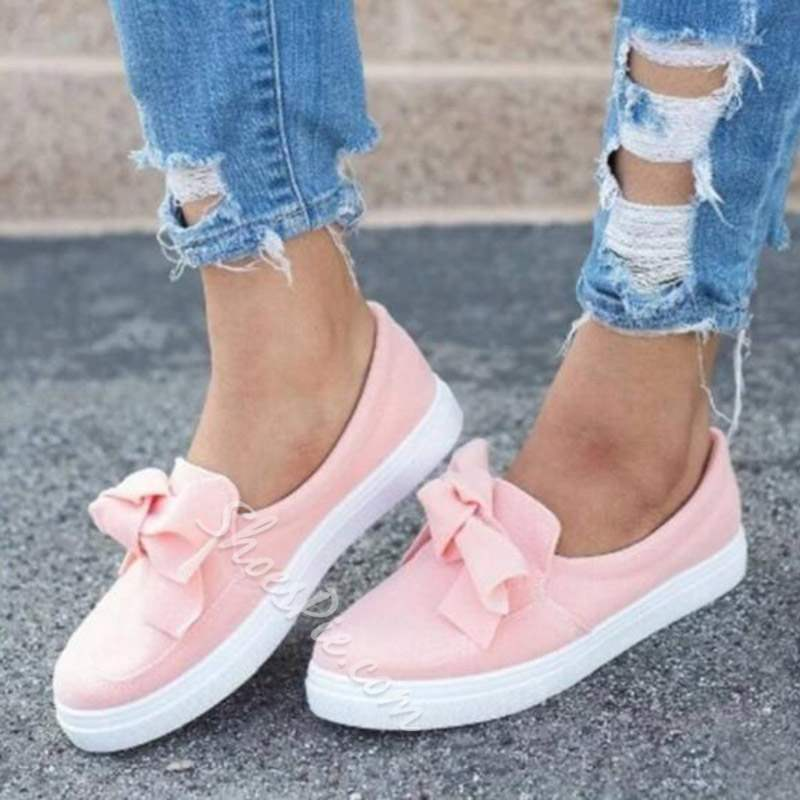 Shoespie Trendy Flat Round Toe Slip-On Casual Loafers