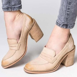 Shoespie Sexy Brush Off Round Toe Low-Cut Upper Loafers