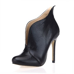 Shoespie Sexy Stiletto Heel Round Toe Short Floss Ankle Boots