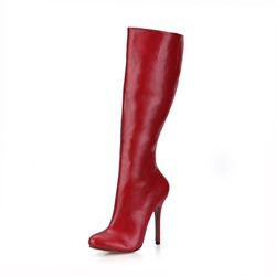 Shoespie Sexy Warm Stiletto Heel Side Zipper Knee High Boots