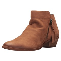 Shoespie Stylish Side Zipper Chunky Heel Ankle Boots