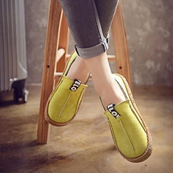 Shoespie Trendy Platform Slip-On Round Toe Casual Loafers