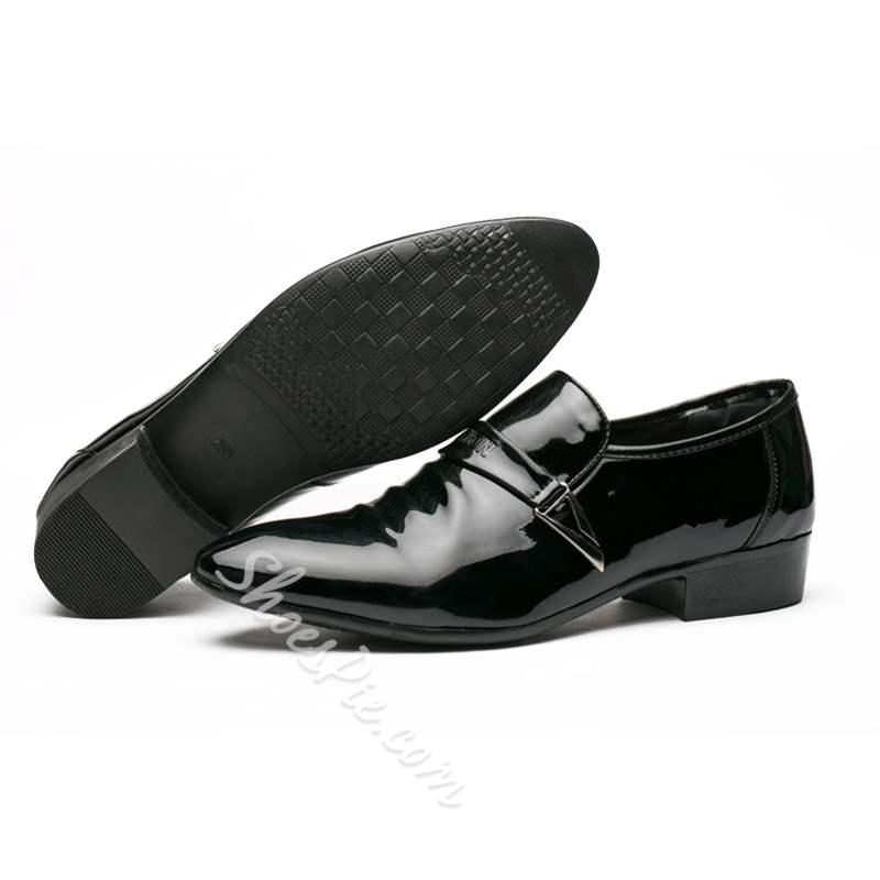 Shoespie Low-Cut Upper PU Men's Leather Shoes